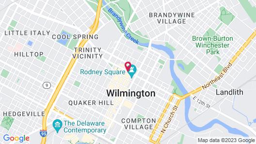 HOTEL DU PONT Map