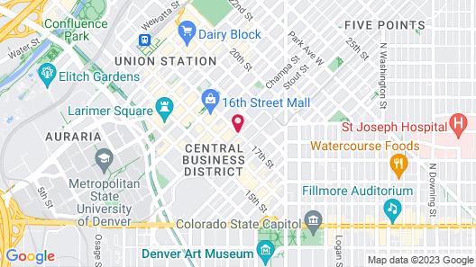 Magnolia Hotel Denver, A Tribute Portfolio Hotel Map