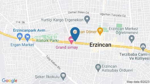 Hotel Konak Mazlum Map