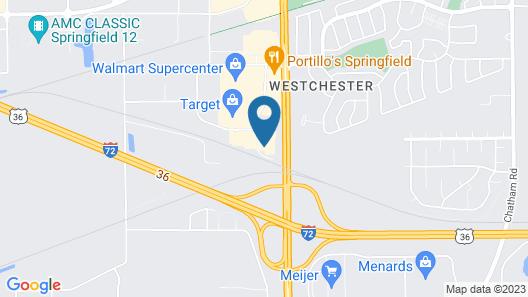 Sleep Inn Springfield West Map