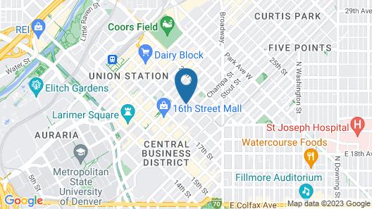 The Ritz-Carlton, Denver Map