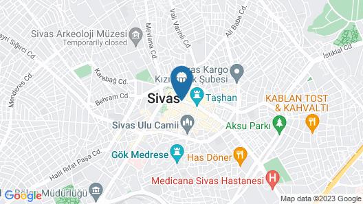 Royal Sivas Hotel Map
