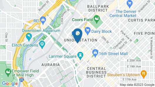 Nativ Hotel Map