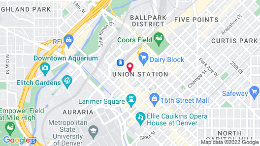 The Oxford Hotel Map