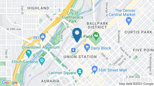 Hotel Indigo Denver Downtown, an IHG Hotel Map
