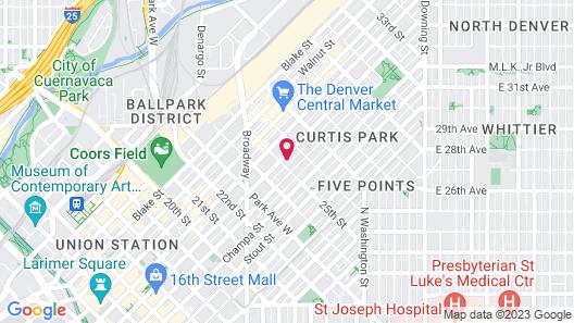 The Curtis Park Club Map