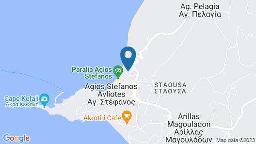 Delfino Blu Boutique Hotel Map