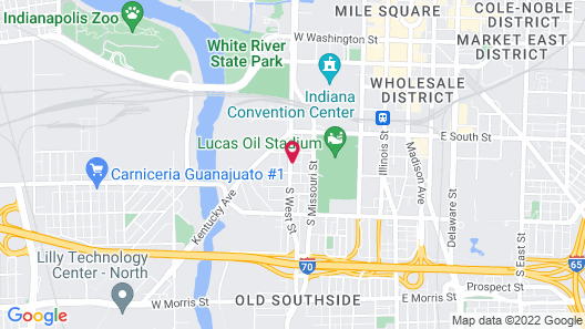 Staybridge Suites Indianapolis Downtown - Convention Center, an IHG Hotel Map