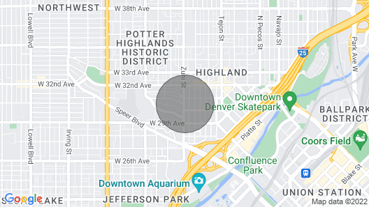 Luxe - Private Rooftop/hot Tub/fire Pit, Walk Downtown Map