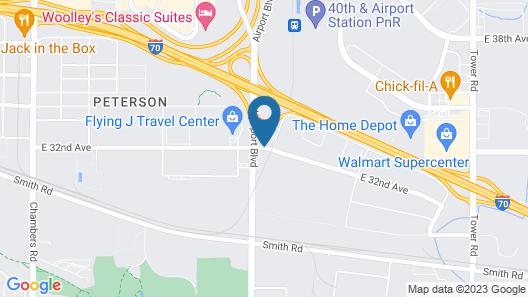 Red Lion Inn & Suites Denver Airport Map