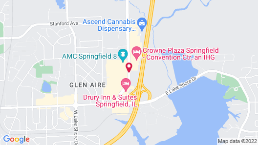 Hilton Garden Inn Springfield Map