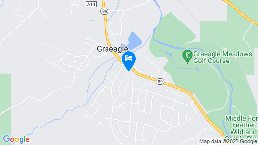 Graeagle Home Exceptional View and Short Walk to Mill Pond Map