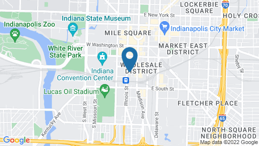 Omni Severin Hotel Map