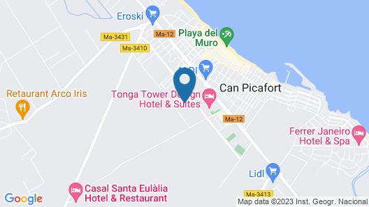 Zafiro Can Picafort Map