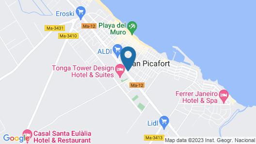 Ilusion Markus & Spa Map