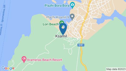 Vila Malo Map