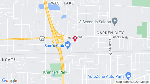 Wingate by Wyndham Indianapolis Airport-Rockville Rd. Map