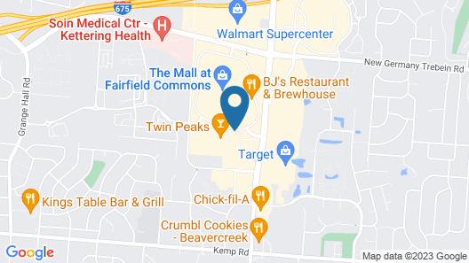 Home2 Suites by Hilton Dayton/Beavercreek Map