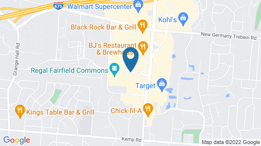 SpringHill Suites by Marriott Dayton Beavercreek Map