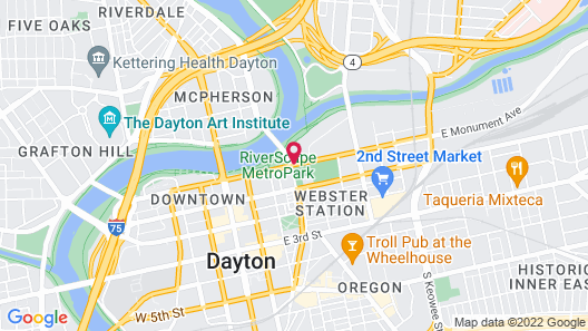Fairfield Inn & Suites by Marriott Dayton Map