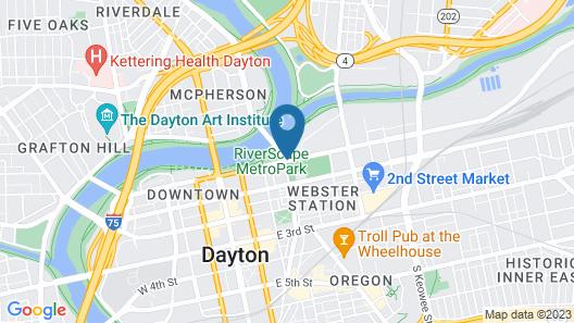 Fairfield Inn & Suites by Marriott Dayton Map