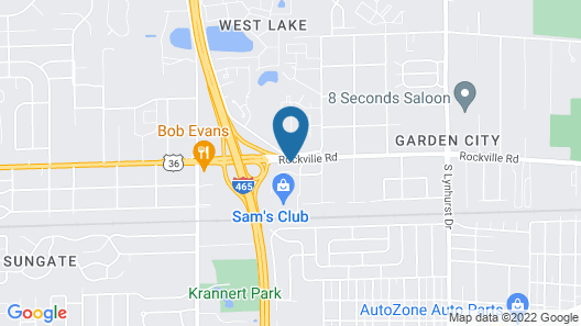 Microtel Inn & Suites by Wyndham Indianapolis Airport Map
