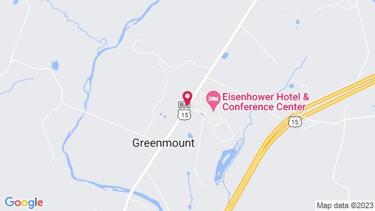 Eisenhower Hotel & Conference Center Map