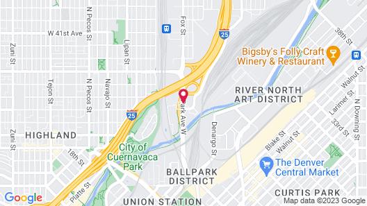 La Quinta Inn by Wyndham Denver Central Map