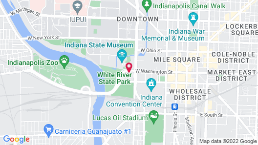 Fairfield Inn & Suites by Marriott Indianapolis Downtown Map