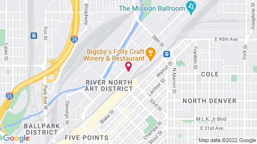 The Source Hotel Map