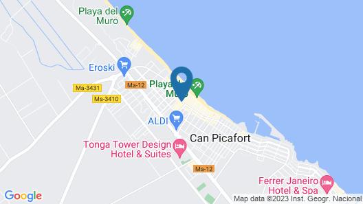 Hotel THB Gran Playa - Adults Only Map