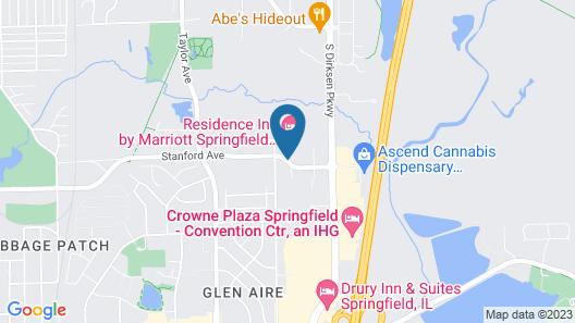 Residence Inn by Marriott Springfield South Map