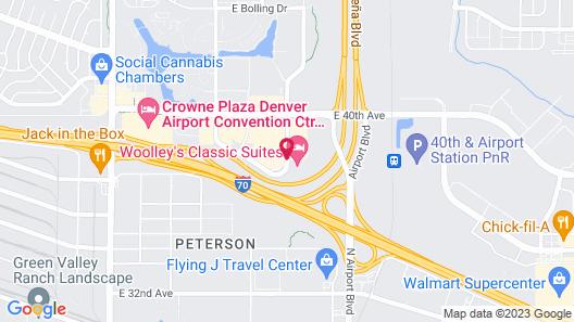 Marriott Denver Airport at Gateway Park Map