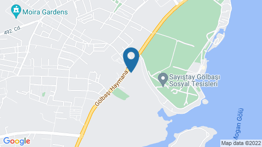 Patalya Lakeside Resort Hotel Ankara Map