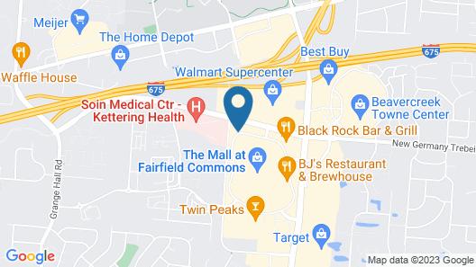 Residence Inn by Marriott Dayton Beavercreek Map
