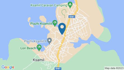 Vila Landi Map