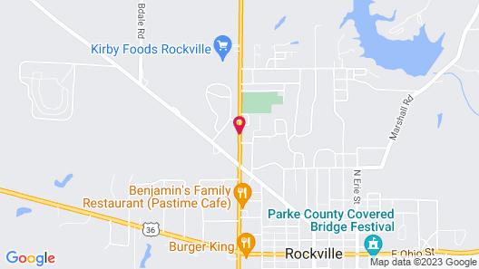 Motel Forrest Rockville Map