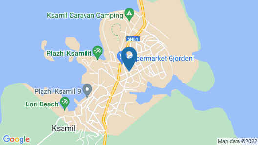 Relax Hotel Apartments Map