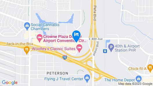 Hilton Garden Inn Denver Airport Map