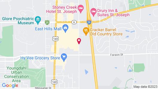 Stoney Creek Hotel & Conference Center St. Joseph Map