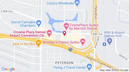 Cambria Hotel Denver International Airport Map