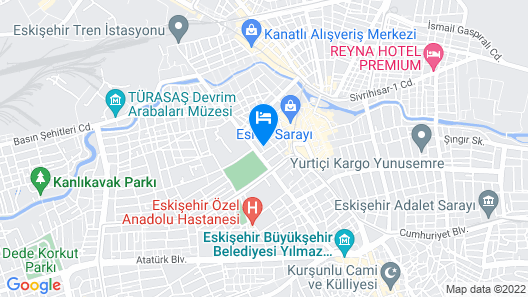 Asiwa Otel Map