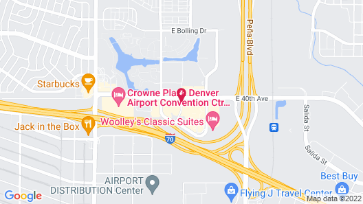 Hyatt Place Denver Airport Map
