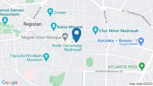 MEKHTAR ACCOMODATION Map