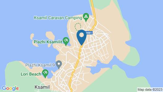 Hotel Murati Map