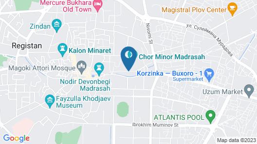 Mekhtar Ambar Map
