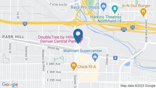 DoubleTree by Hilton Hotel Denver - Stapleton North Map