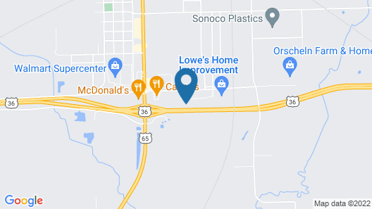 Comfort Inn & Suites Chillicothe Map