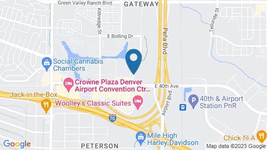 Homewood Suites by Hilton Denver Int'l Airport Map