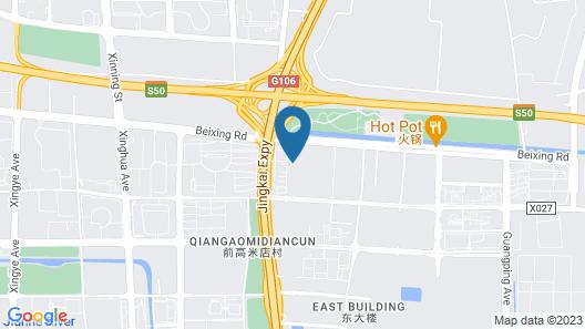 Hilton Beijing Daxing Map